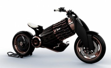 EV-1 electric motorcycle from Newron Motors