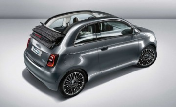 Fiat 500 electric city car