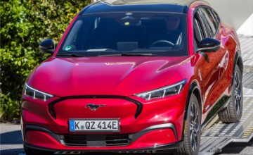 Ford Mustang Mach-E 2021 all electric SUV
