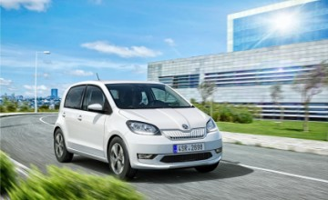 Skoda CITIGO-e iV electric car