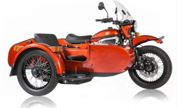 Ural cT - electric motorcycle with sidecar