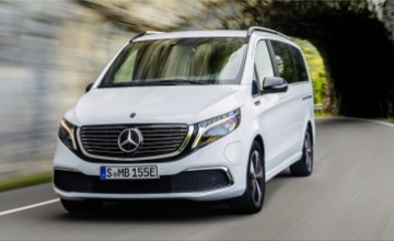 Mercedes-Benz EQV electric MPV