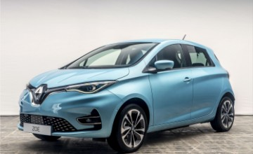 The Renault ZOE is Europe's most popular electric car