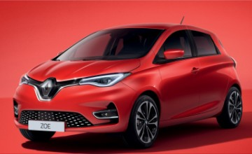 2020 Renault Zoe all-electric hatchback
