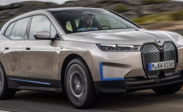 BMW iX all-electric SUV