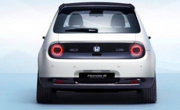 Honda e - new electric city car