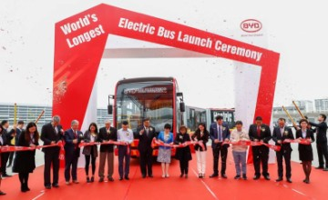 K12A, the longest electric bus in the world