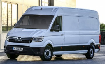 MAN eTGE electric van