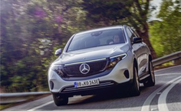 Mercedes-Benz EQC electric SUV 2019