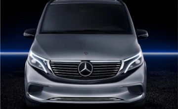 Mercedes-Benz EQV is the electric minivan