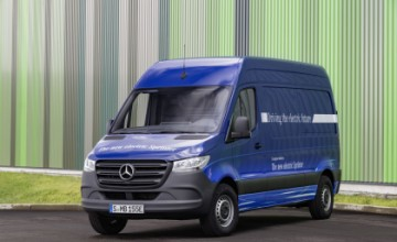 Mercedes-Benz eSprinter electric van