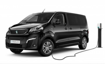 Peugeot e-Traveler electric minivan