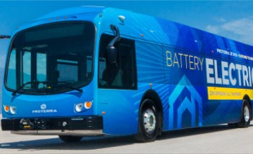 Proterra ZX5 battery-electric bus