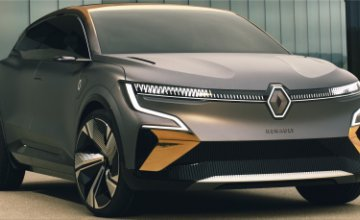 Renault Megane eVISION electric concept car
