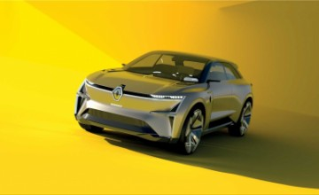 Renault Morphoz electric concept car