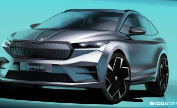 Skoda Enyaq iV electric SUV