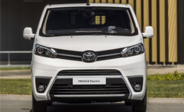 Toyota PROACE Electric will be launched in European markets