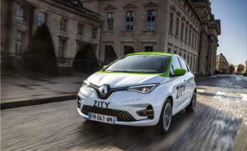 ZITY - EV car-sharing service in Paris