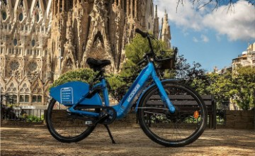 eCooltra electric bike-sharing service