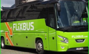 FlixBus fully electric bus