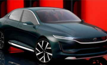 TATA EVision electric car concept