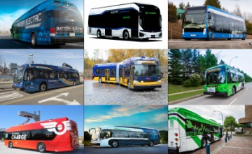 Urban electric buses