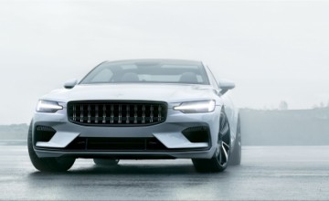 Volvo Polestar 1 electric sports car