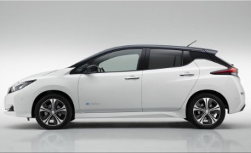 2018 Nissan Leaf electric car