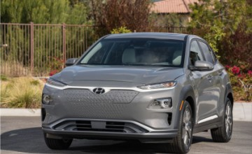 Hyundai Kona Electric car