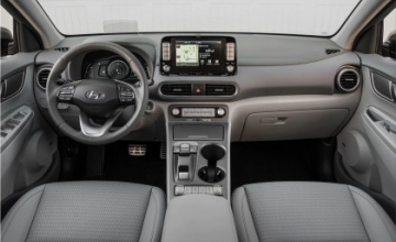 Hyundai Kona Electric car interior