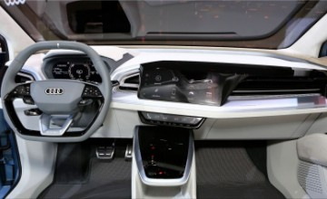 Audi Q4 e-tron electric SUV interior