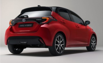 Toyota Yaris the fourth generation
