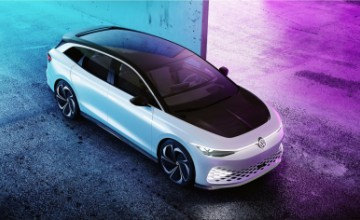 Volkswagen ID. SPACE VIZZION electric SUV station wagon