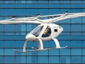 Volocopter 2X Air Taxi flight over Marina Bay